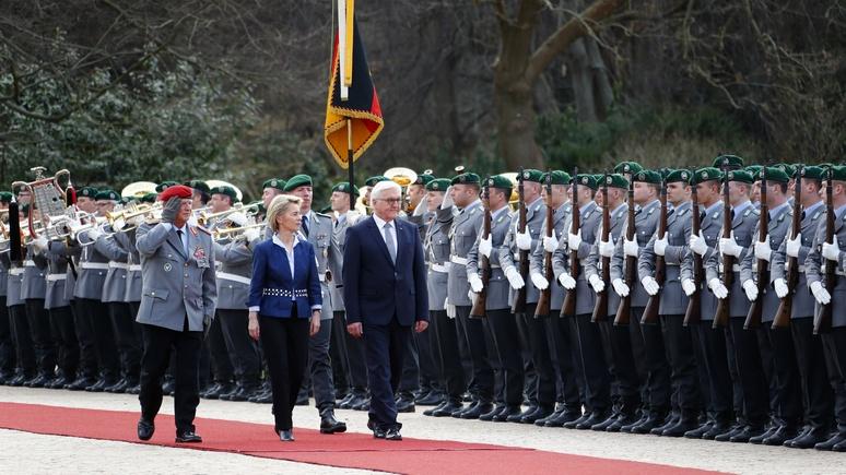 Президент ФРГ призвал неназывать РФ  противником