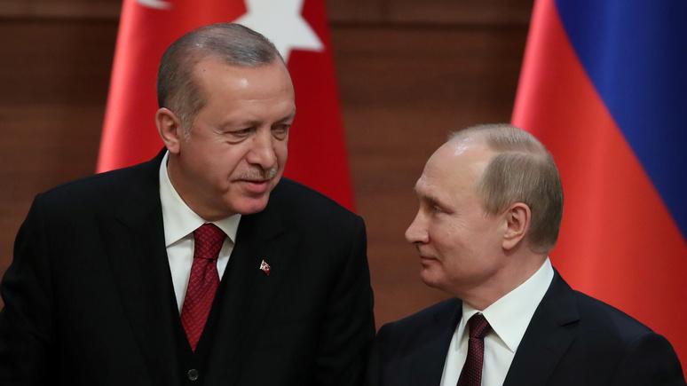 Tagesspiegel: в сирийском конфликте Эрдоган ищет средний путь между Россией и США