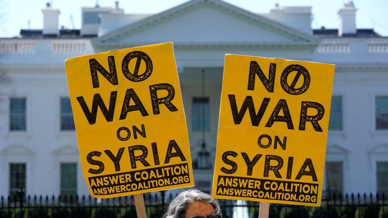 Мировые СМИ о «символической ракетной атаке по Сирии»: остаётся уповать на терпение Москвы