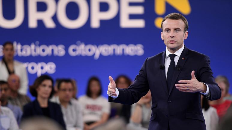 Le Monde: реформаторские амбиции Макрона не нашли поддержки в ЕС