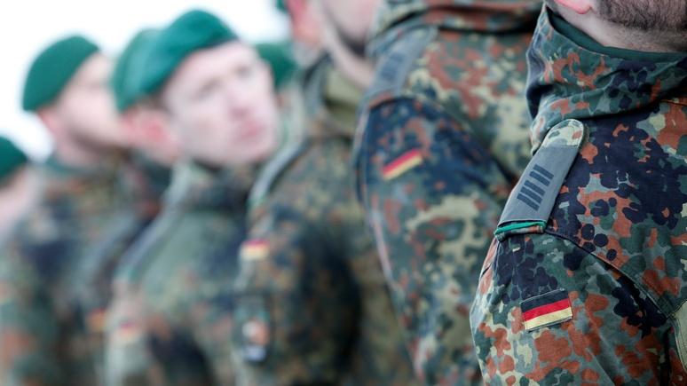 Бундесвер: Доверие к руководству ФРГ «опасно подорвано»