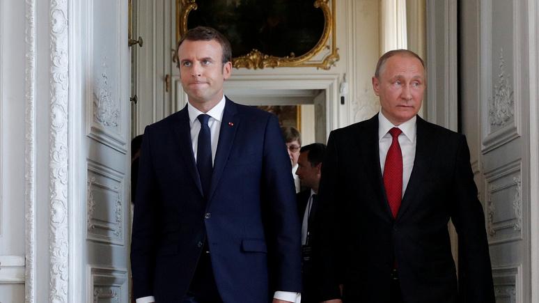 Le Monde: несмотря на раздражение, Кремль найдёт подход Макрону
