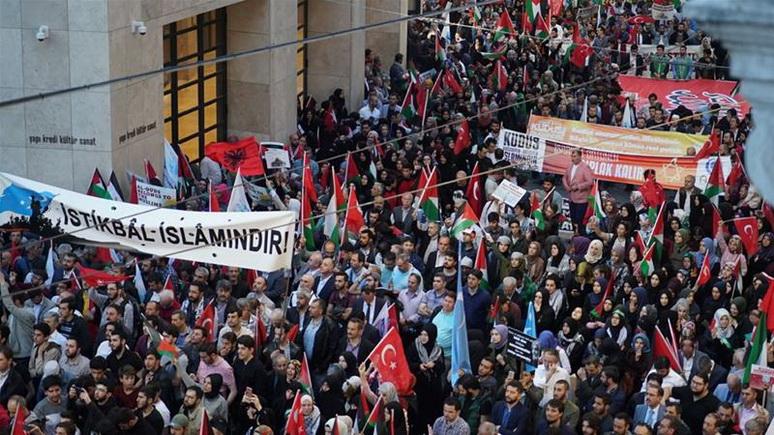Bild: открытие посольства США в Иерусалиме отметили массовыми протестами