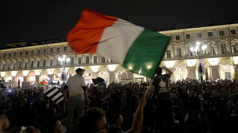Die Welt: Италия — шестой удар для Европы, и он может стать смертельным