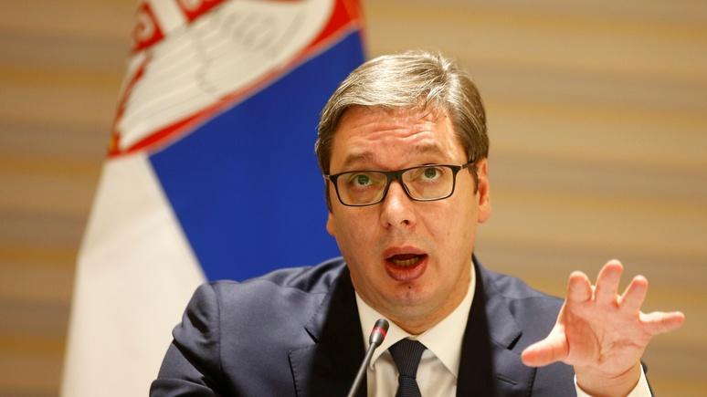 RP: Вучич успокоил русских — для сербов дружба с Россией важнее места в НАТО
