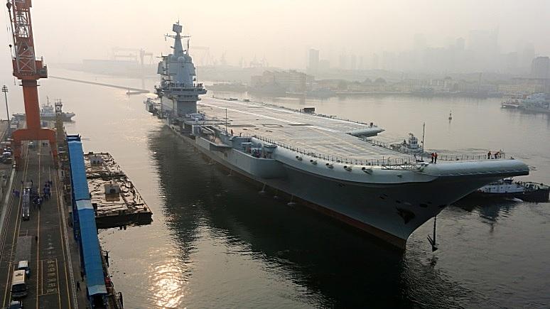 Yomiuri Shimbun: строительство новых авианосцев в Китае обостряет отношения с США