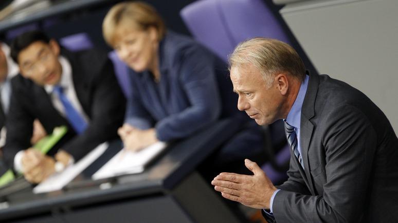 Немецкий политик: Германия не уберегла свою промышленность от самоуправства США