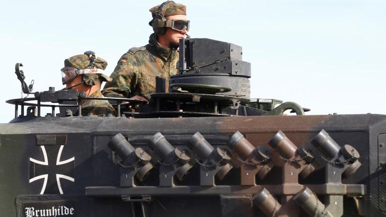 Junge Welt: набор резервистов в Германии напоминает подготовку новой операции «Барбаросса»