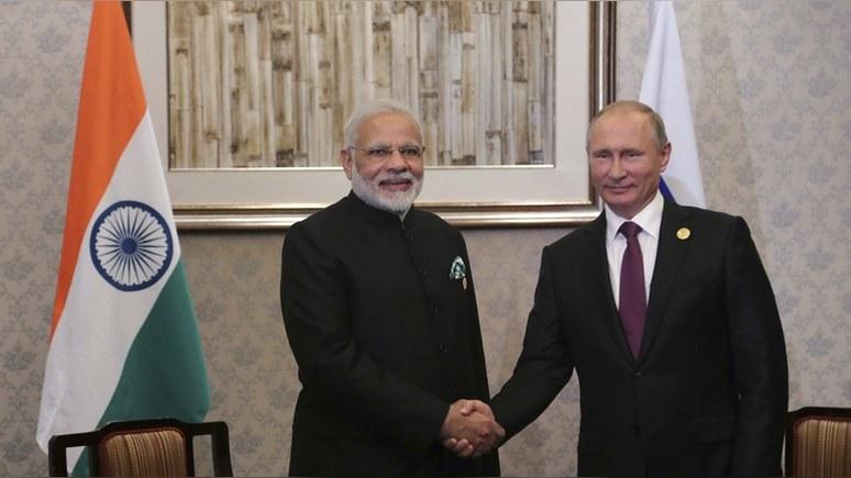 Daily Express: Россия и Индия укрепляют связи в пику Западу