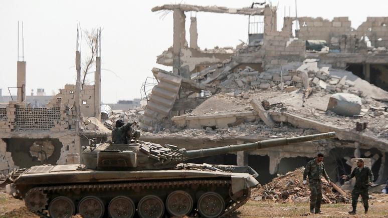 N-TV: впервые с 2012 года Дамаск полностью вернулся под контроль Асада