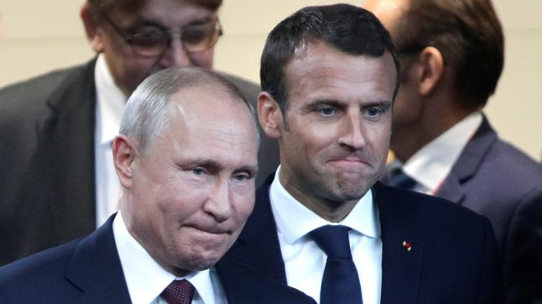 Atlantico нашёл четыре причины, почему чуда у Путина и Макрона не получилось
