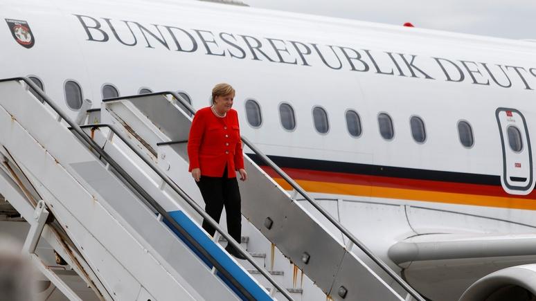 NOZ: премьеры стразу трёх федеральных земель Германии призвали Меркель к интенсивному диалогу с Россией