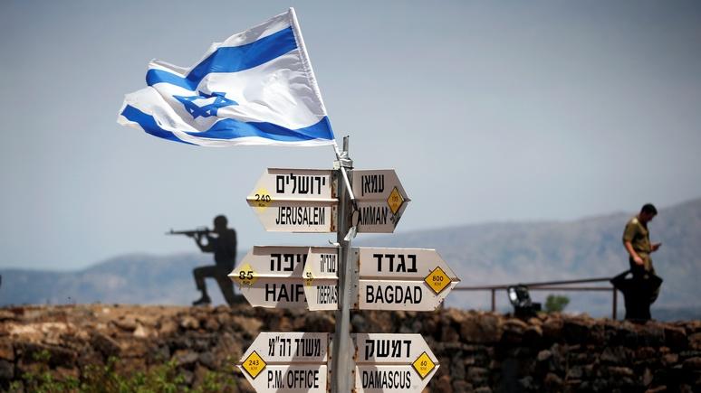 NI: У Израиля на Голанские высоты прав меньше, чем у России на Крым, но США с этим смирились