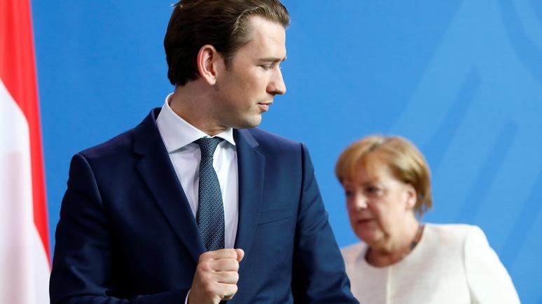 Frankfurter Allgemeine: Австрия и Италия бросают вызов миграционной политике Меркель