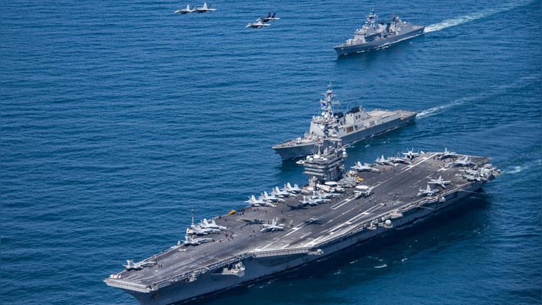 National Interest: в противостоянии с Россией авианосцы США будут практически бесполезны