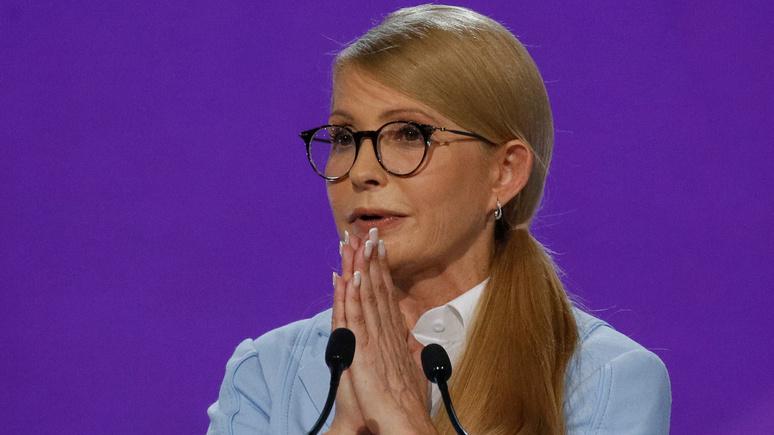 «Это неPlaystation»: Тимошенко пояснила, зачем будет баллотироваться напост президента государства Украины