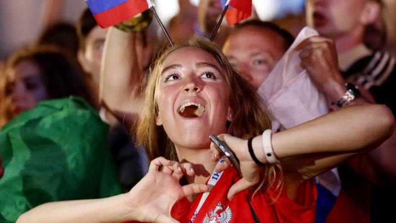 Guardian: атмосфера чемпионата мира притягивает к себе всё больше болельщиц