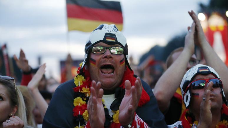 Schwäbische Zeitung: немецкие болельщики приготовились к поражению их сборной в матче со Швецией