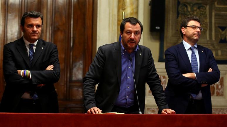 Вице-премьер Италии предупредил обопасности распадаЕС из-за разногласий между членами сообщества