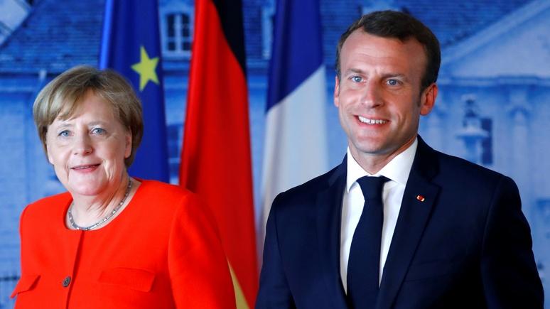 SZ: 12 стран ЕС воспротивились идее Меркель и Макрона создать общий бюджет еврозоны