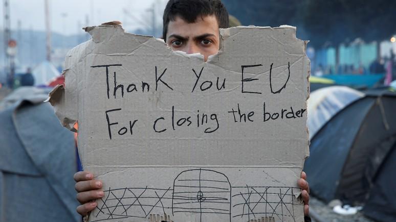 ERR: на борьбу с мигрантами Европа выставит 10 тысяч пограничников