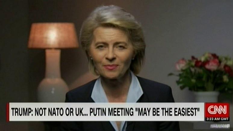 Министр обороны Германии: надеюсь, Трамп даст понять Путину — НАТО никогда не признает «аннексию Крыма» — ИноТВ