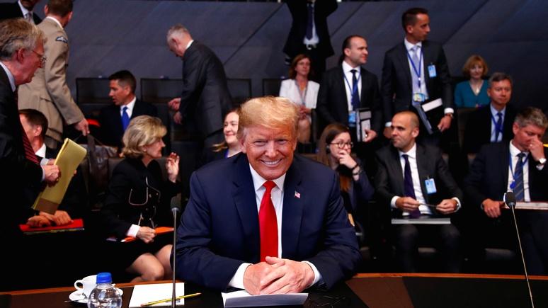 Мировые СМИ: по пути в Хельсинки Трамп взыскал долги с союзников по НАТО  — ИноТВ