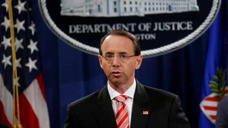 Politico: минюст США предъявил 12 российским офицерам обвинения во взломе серверов Демократической партии