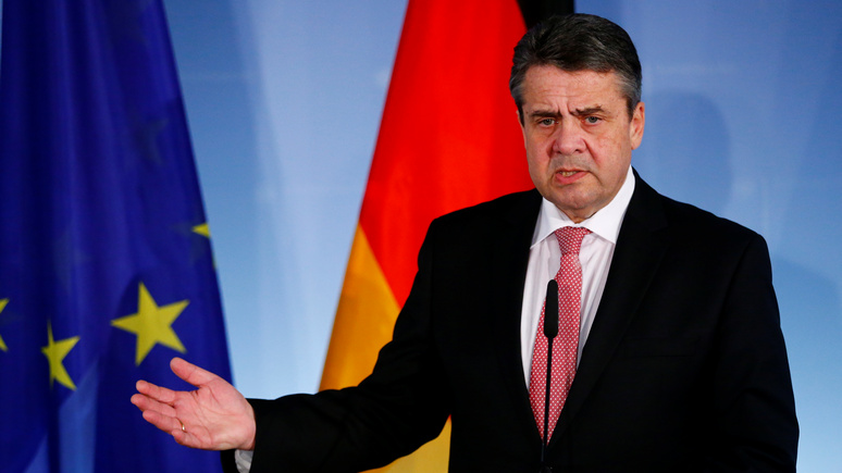 Габриэль: Трамп хочет сменить режим в Германии