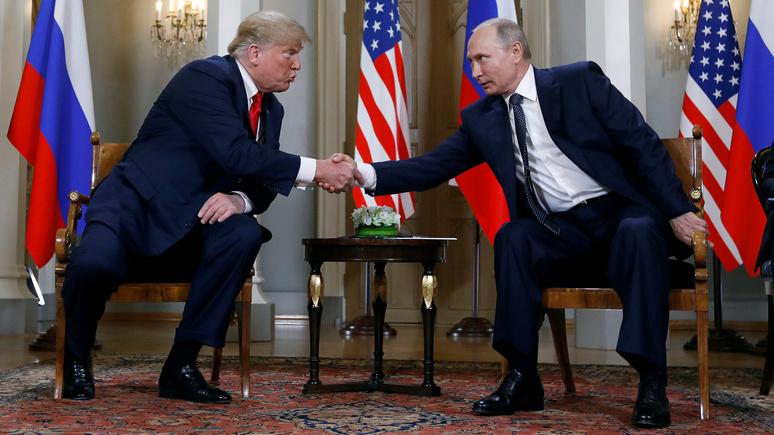 Guardian: с саммита в Хельсинки Путин вышел крупным победителем