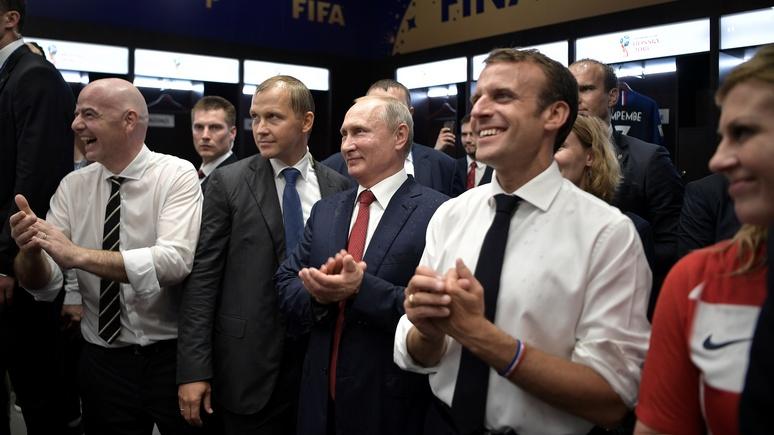 Le Figaro: Макрон понял, что все дороги ведут в Москву, и стал политическим реалистом