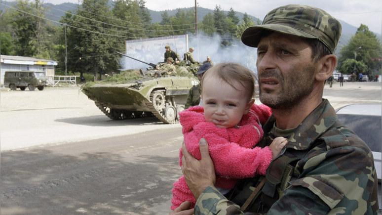 SR: спустя десять лет в Грузии предпочитают не вспоминать о войне с Россией