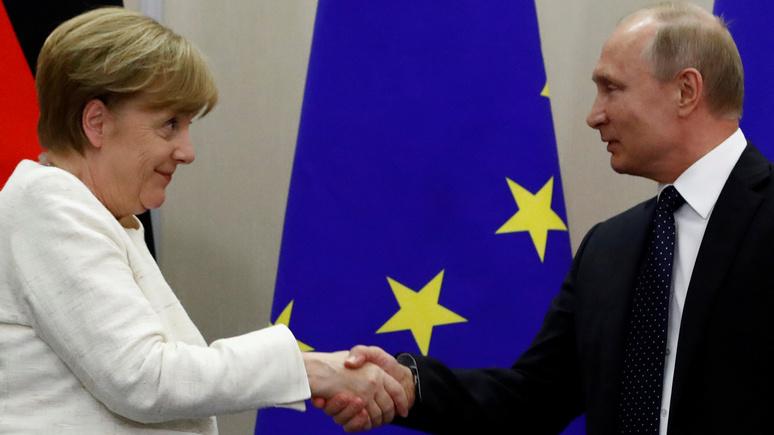 NYT: американские санкции подталкивают Германию и Россию к тесному сотрудничеству