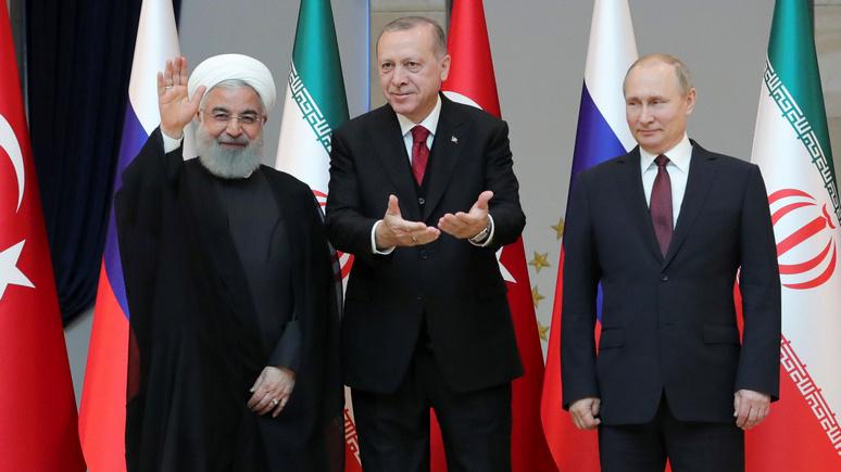 DT: своими санкциями Трамп рискует создать «нечестивую ось» из Турции, Ирана, Китая и России