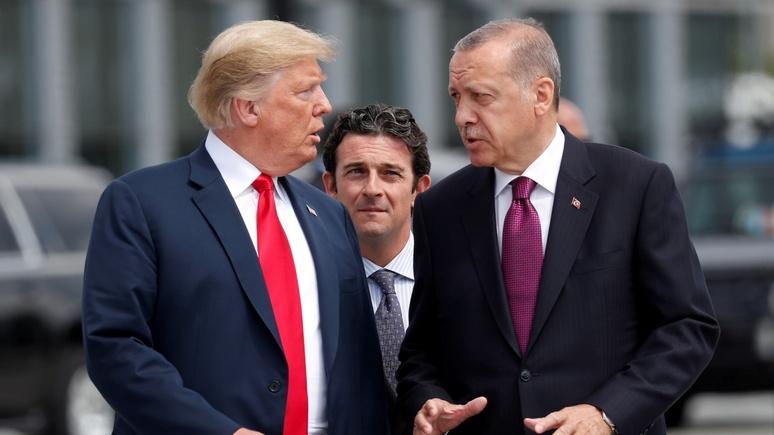 Hürriyet Daily News: Анкара отразит попытку экономического переворота, затеянного США