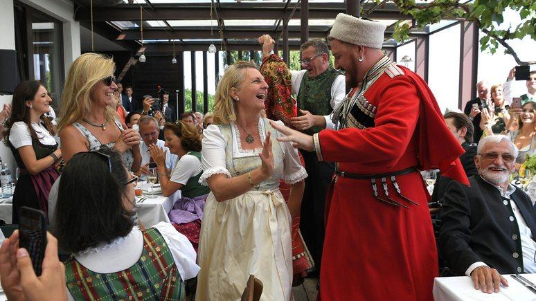 Картинки по запросу казаки на свадьбе в австрии фото