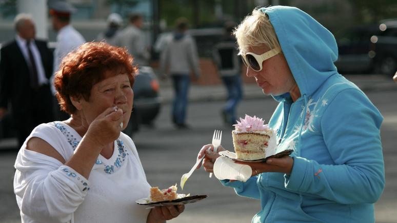 Handelsblatt: за более сладкую жизнь, чем на Западе, россиянам приходится платить