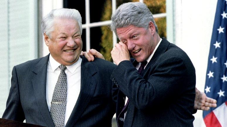 «Больше чем дружба»: BuzzFeed рассказал, как общались Клинтон и Ельцин