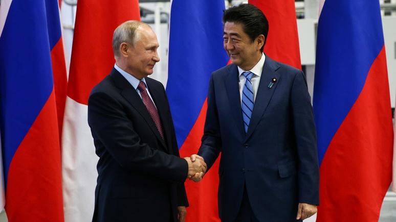 Mainichi Shimbun: Путин и Абэ обсудили экономическое сотрудничество на «спорных» островах