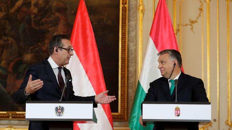 N-TV: вице-канцлер Австрии предложил Орбану объединить силы в Европарламенте