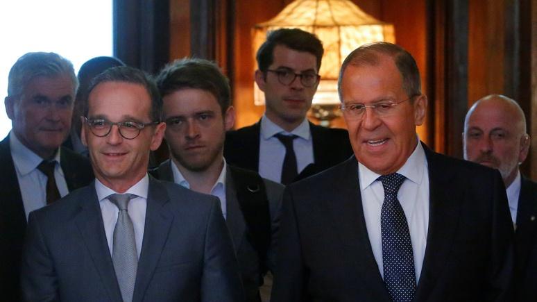 Süddeutsche Zeitung: в Берлин Лавров летит за «чеком» на восстановление Сирии