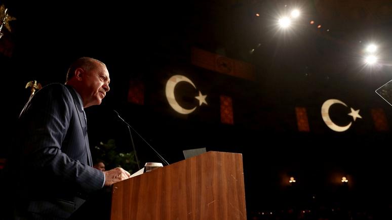 Эрдоган поведал, как Турция иГермания отстаивали право закупать газ у РФ
