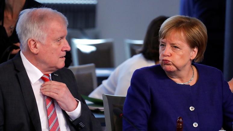 Die Welt: в родной партии Меркель прозвали «хромой уткой»