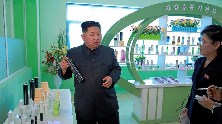 Ким Чен Ынподарил президенту Южной Кореи 2-х  собак редкой породы