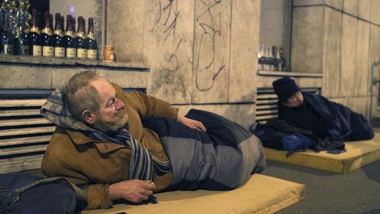 Guardian: в Венгрии бездомных объявили вне закона