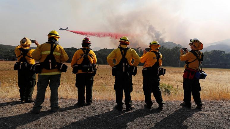 Bloomberg от санкций США против российских облигаций могут пострадать калифорнийские пожарные