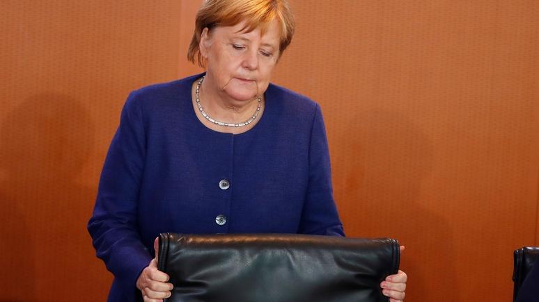 ВГермании рекордно снизился рейтинг партии Меркель