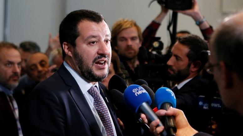 Сальвини: Италия не позволит ЕС продлить «бесполезные и вредоносные» санкции против России