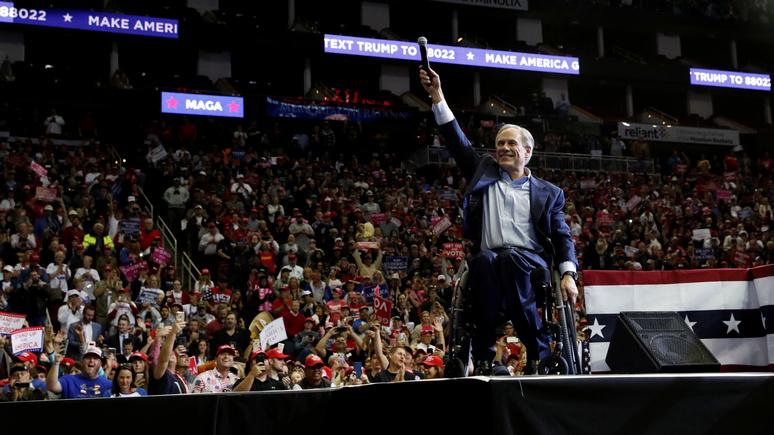 Daily Mail: губернатор Техаса похвастался, что он «могущественнее Путина»