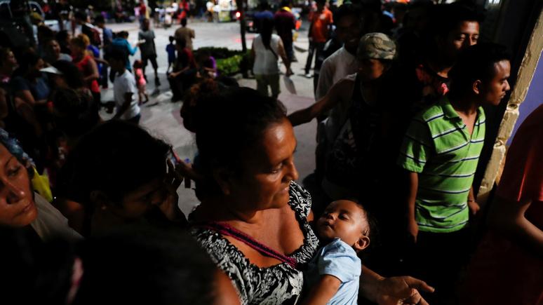 Le Figaro: караван мигрантов — подарок для Трампа перед выборами в конгресс